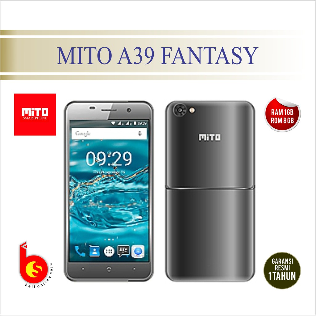 Mito A39 Lte 8gb Gold2 Price List Of Online Shop Indonesia Ram 3gb Gold