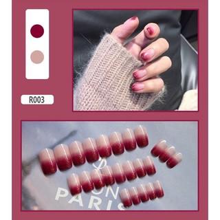 24 Pcs Daily Korean Fake Nails thumbnail