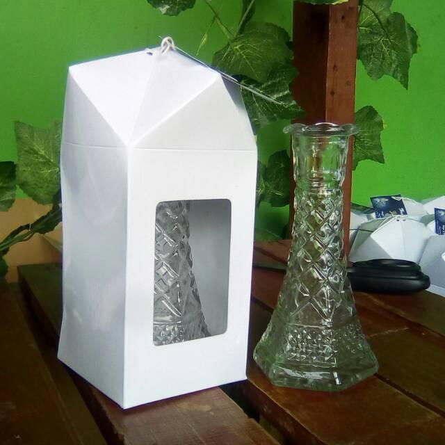 Souvenir Vas Bunga Kemasan Kotak Shopee Indonesia