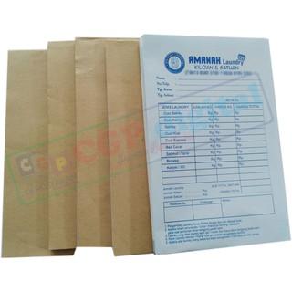 Nota Kontan Custom Untuk Laundry Toko Klontong Bengkel Apotek Dll 2 Plyrangkap 2