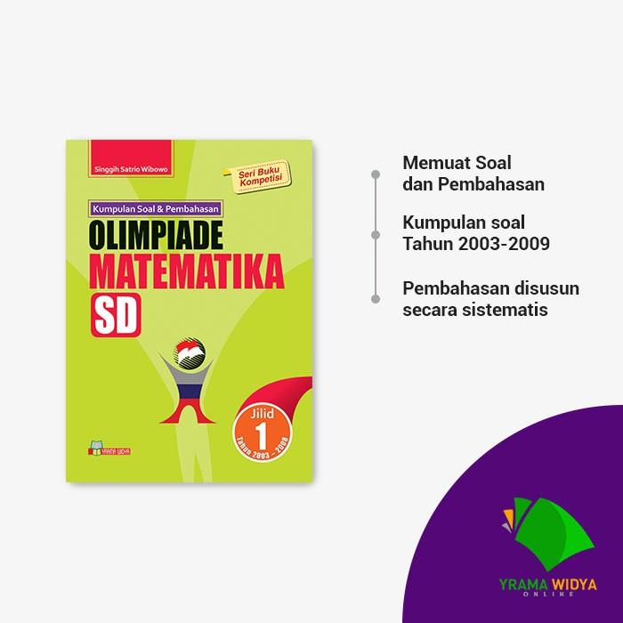 Yrama Widya Buku Kumpulan Soal Dan Pembahasan Olimpiade Matematika Sd Jilid 1 Shopee Indonesia