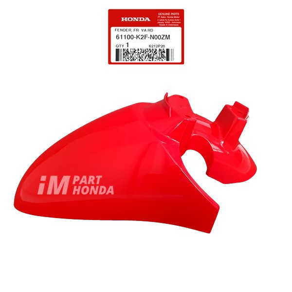 Slebor Spakbor Depan Scoopy Fi eSP K2F Merah Sporty Red 61100-K2F-N00ZM