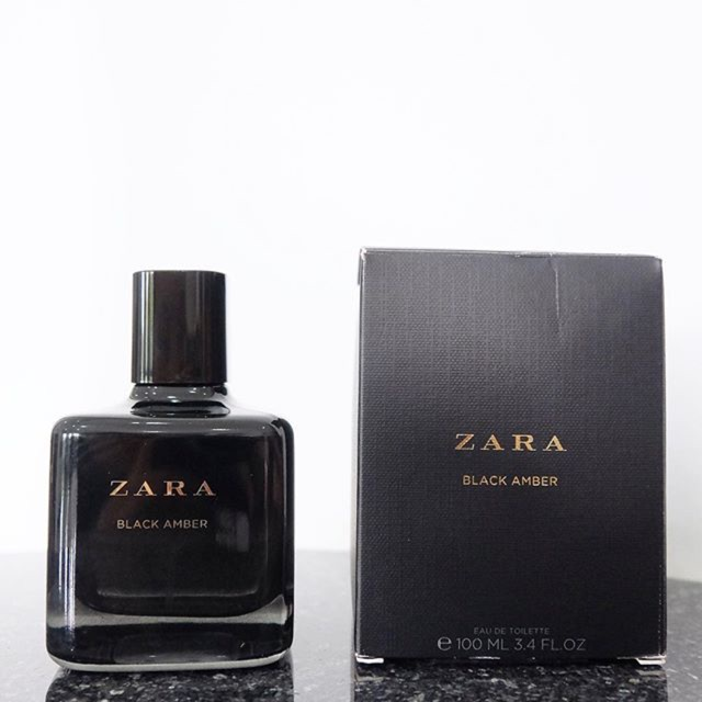 Perfume Zara Zara Amber Black Black wPk8nX0O