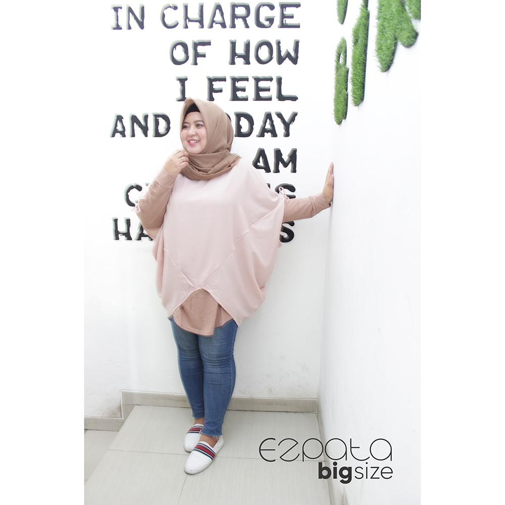 Blouse Polos Jumbo Big Size Wanita Bahan Kaos Rayon Xxl Shopee Bigsize Star Baju Indonesia