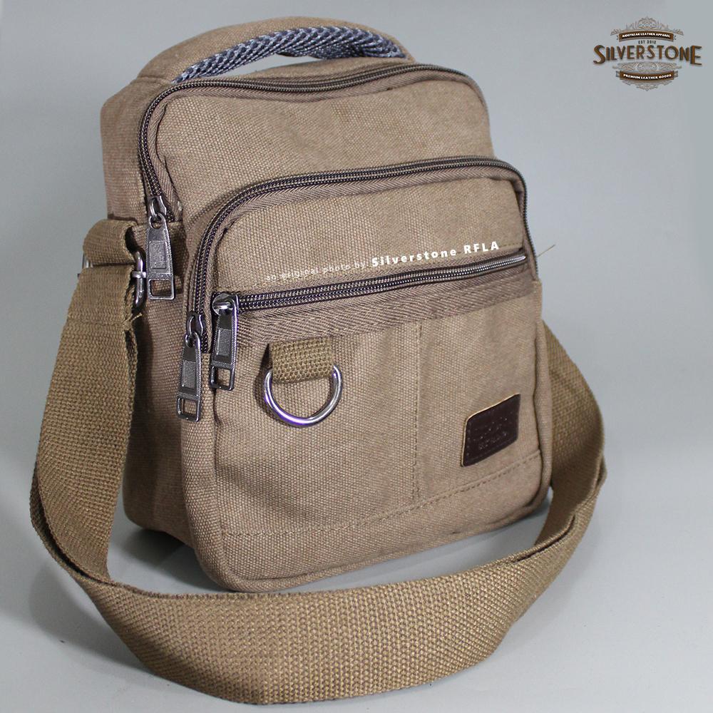 Tas Selempang Pria Kulit Premium Slempang Bag Ukuran Besar Santai Pu Import Kode 291 4 Mb 29 Shopee Indonesia