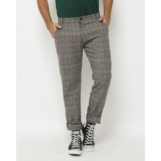 Erigo Tartan Pants Blevins Grey Orange
