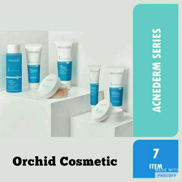 Wardah Acnederm Series 1 Paket