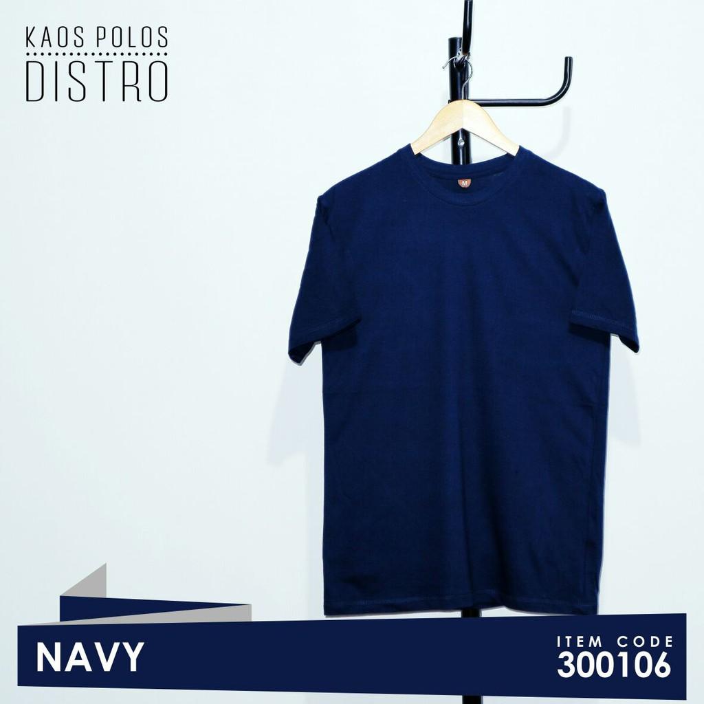 Kaos Polos Distro Warna Coklat Solid Premium Cotton 100 Pria Dan Navy Blue Wanita Shopee Indonesia