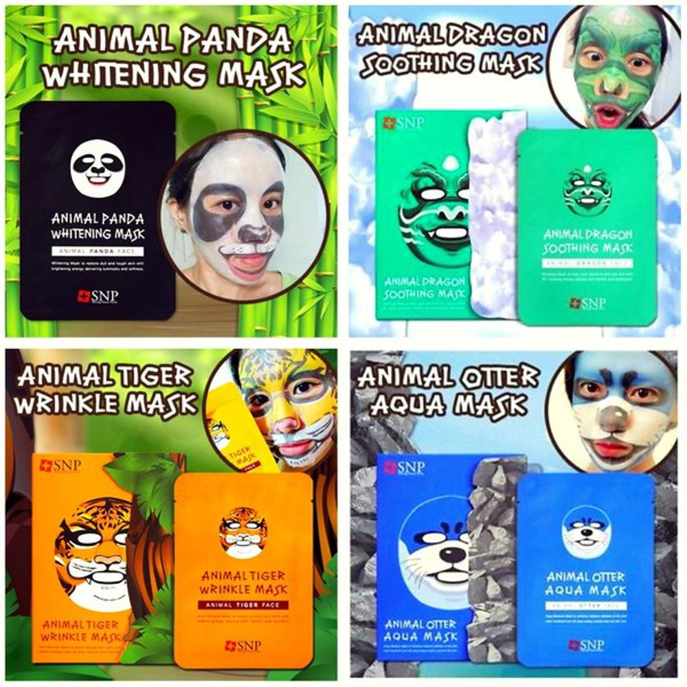 Snp Animal Otter Aqua Mask Masker Spec Dan Daftar Harga Face