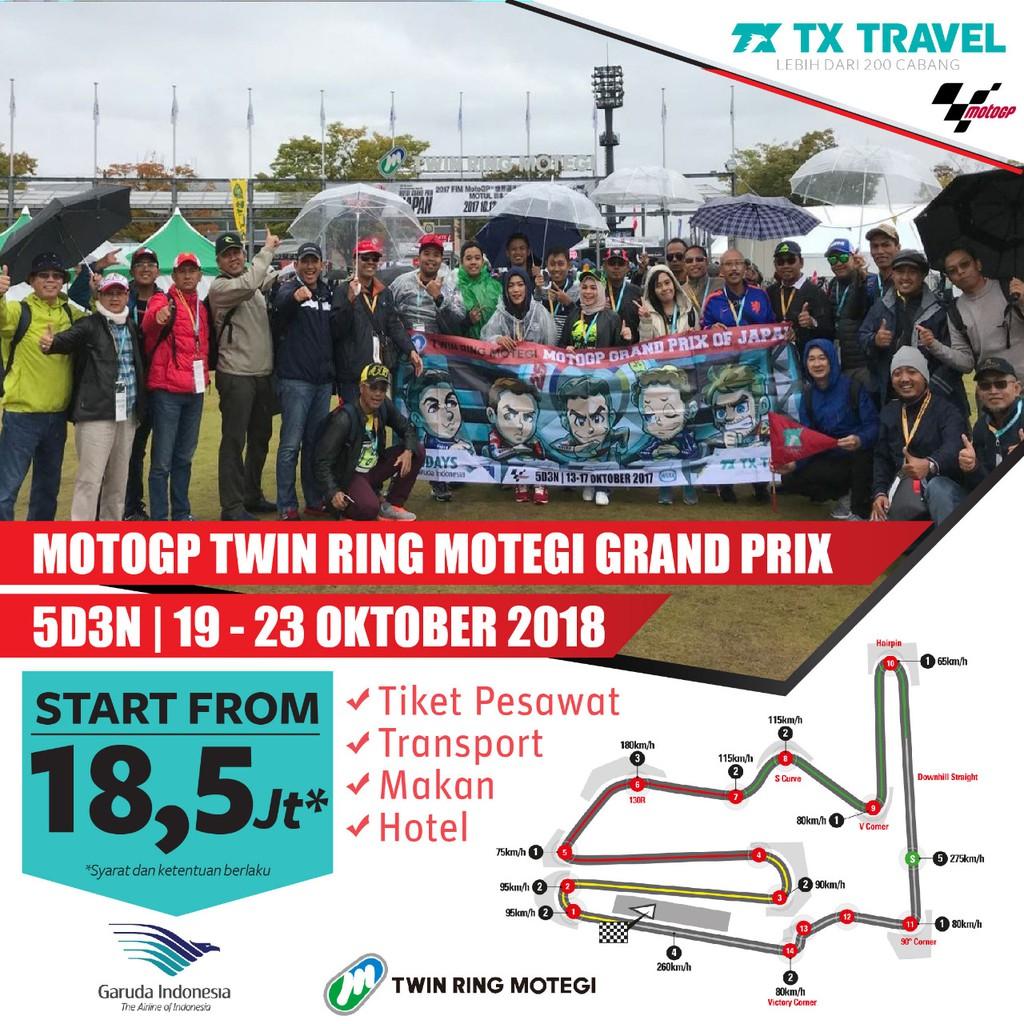 Tour Motogp Thailand 3d2n 6 8 Okt 2018 By Aa Start Jakarta Double Tiket Sepang 02 04 November Sic Racing Team K2 Uncovered Hillstand Shopee Indonesia