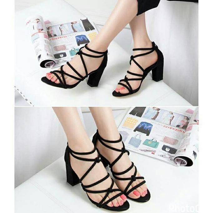 DIANY Sepatu Sandal High Heels Wanita UJM 66 Cream . Source · Promo Hak Tahu Ban