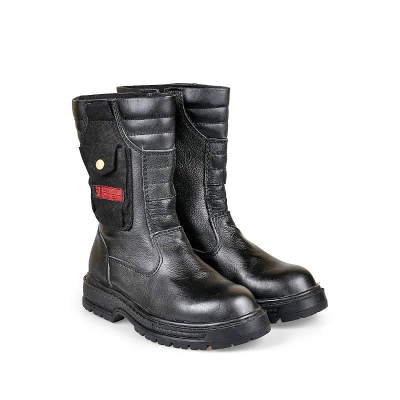 Sepatu Boots Safety Kerja Pria Kulit Hitam BJB 022 JAVA SEVEN 19d83fc6b2