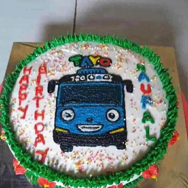 Kue Bolu Karakter Kue Ulang Tahun Anak Kue Bolu Ultah