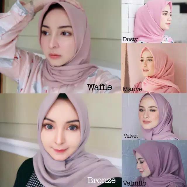 Produk Ori Jilbab Bella Square Premium Jahit Tepi Shopee Indonesia