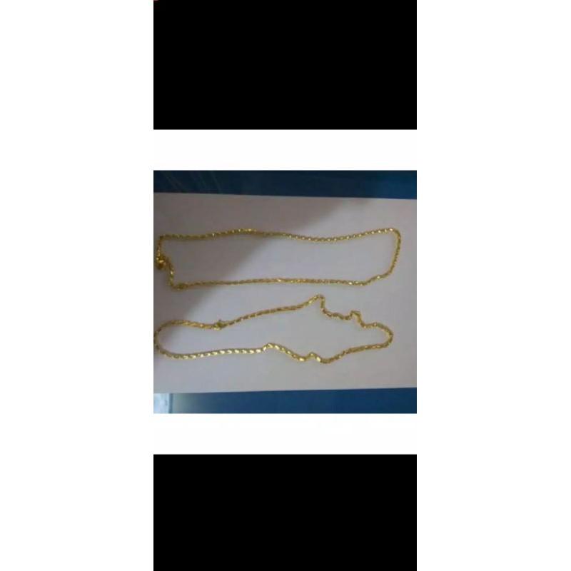 kalung padi emas muda 1suku 6,7gram