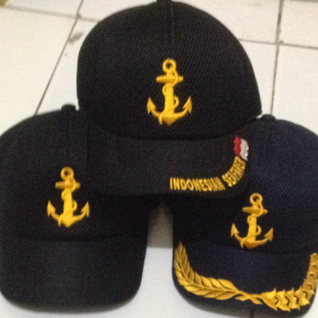 Fashion Baru Merah Topi Angkatan Laut Pelaut Nakhoda Kapal Laut ... e31b73d8bb