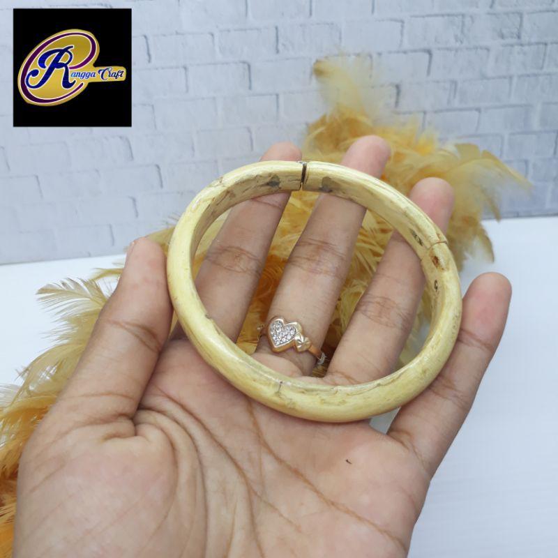 gelang akar bahar putih RG 503
