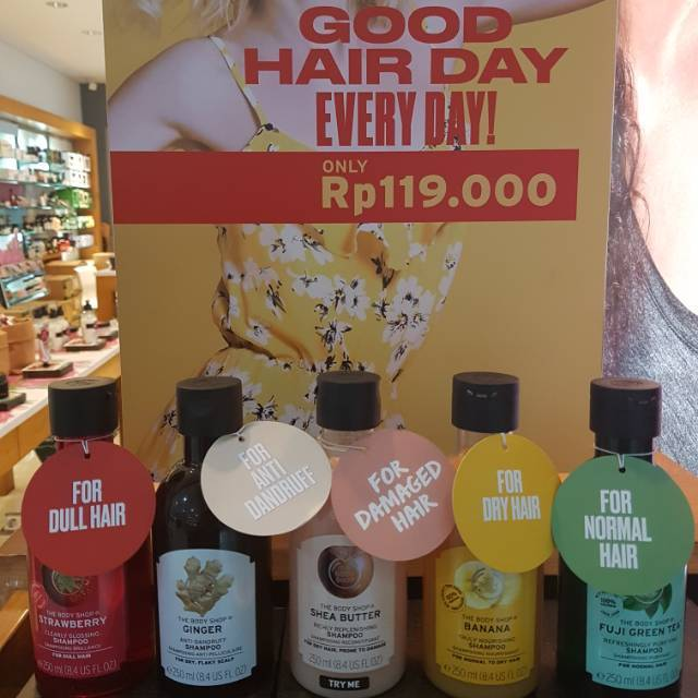 The Body Shop - All Varian Shampoo 250ml