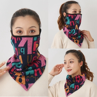Autumn And Winter Neck Mask Women S Thickened Ear Mask Keep Warm Neck Face Mask Outdoor Windproof And Cold Proof Neck Cover Riding Shopee Indonesia
