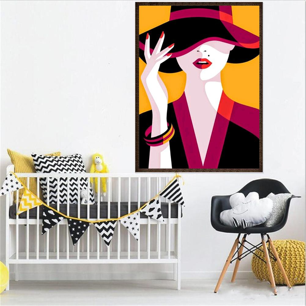 【 COD 】 DIY Lukisan Diamond 5D Dengan Gambar Pemandangan Untuk Hiasan Dinding Rumah