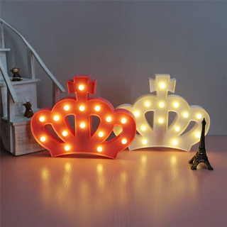 lampu tidur lampu dekorasi lampu kekinian unicorn crown
