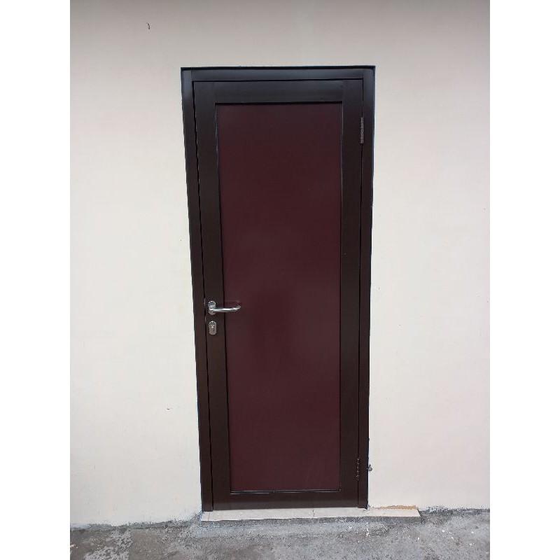 pintu aluminium bahan acp