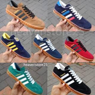 Sepatu Adidas Hamburg Free Box Original Shopee Indonesia