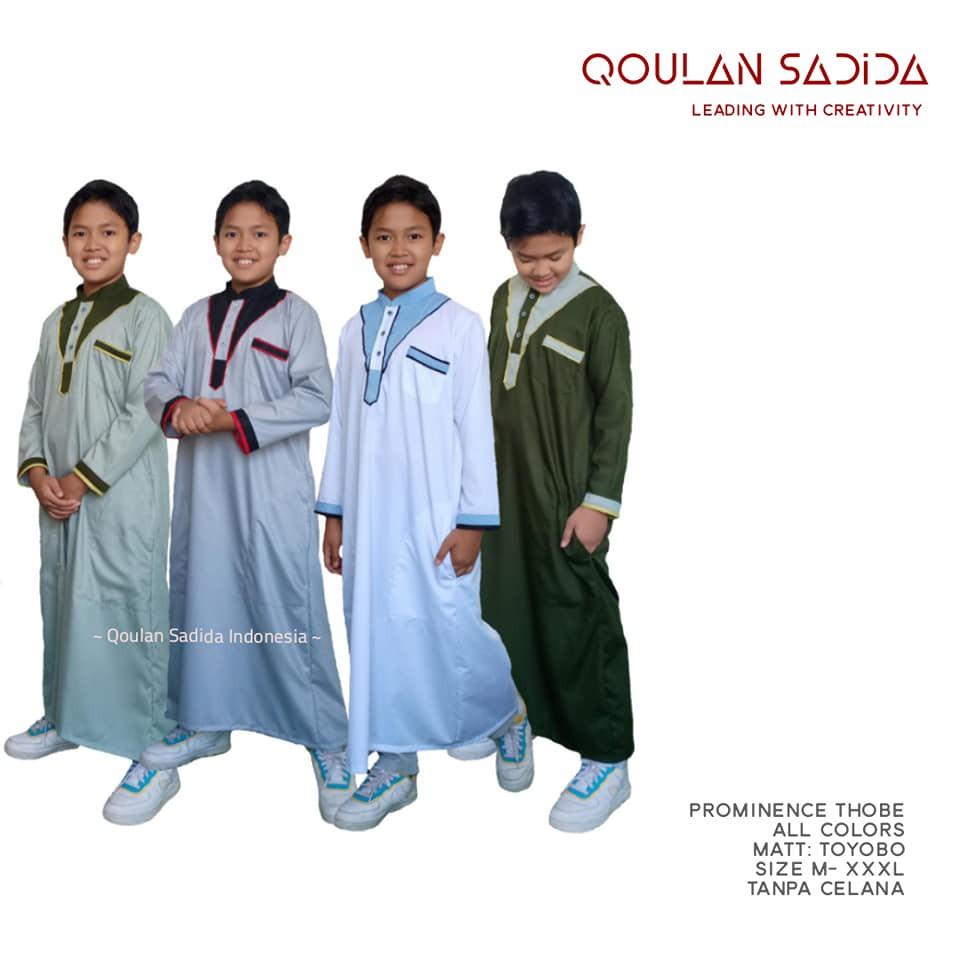 Thobe/Jubah Anak Prominance Series by Qoulan Sadida