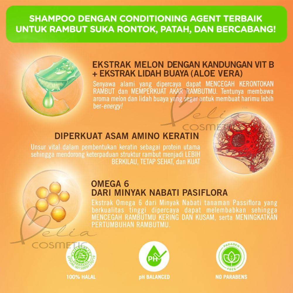 ❤ BELIA ❤ MAKARIZO Hair Energy Shampoo Botol (170ml & 330ml) Shampo Sampo Pembersih Rambut 2in1-3
