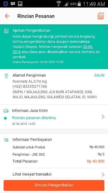 Blacklist Cust Perlu Dibaca Sbg Pelajaran Shopee Indonesia