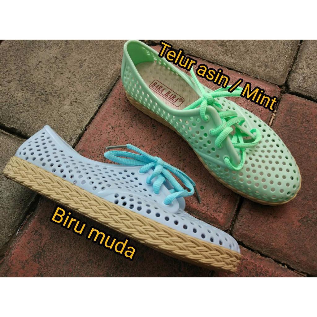 Bara Bara Sepatu Jelly Sneakers Silikon Shoes Cewek Silicone Kets 6382 -  DD6382ELS  0e04be05e9