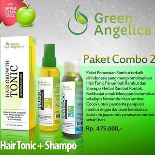 ON SALE Obat Penumbuh Rambut Green Angelica Barang Berkualitas   Shopee Indonesia