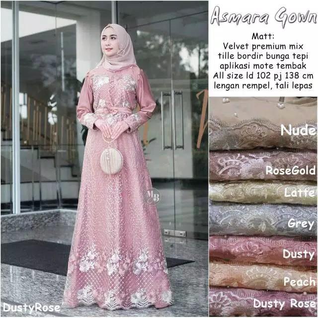 Harga Model Baju Gamis Brokat Terbaik Dress Muslim Fashion Muslim April 2021 Shopee Indonesia