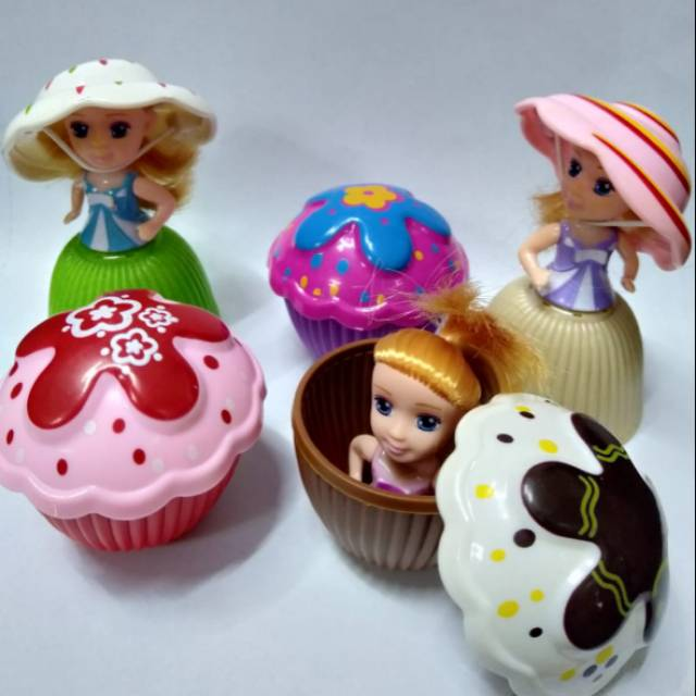 Boneka Cupcake Surprise Barbie Princess Shopee Indonesia