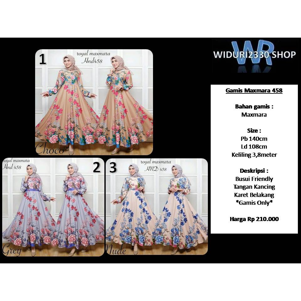 Gamis Betric Shopee Indonesia Only