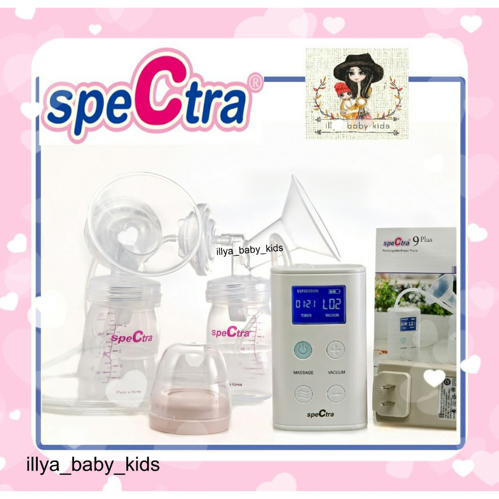 Pb4631 Pompa Asi Spectra Q Mini Electric Breast Dual Double Pump Obebe Electronic 3 Levels Rechargeable Battery Breastpump Shopee Indonesia