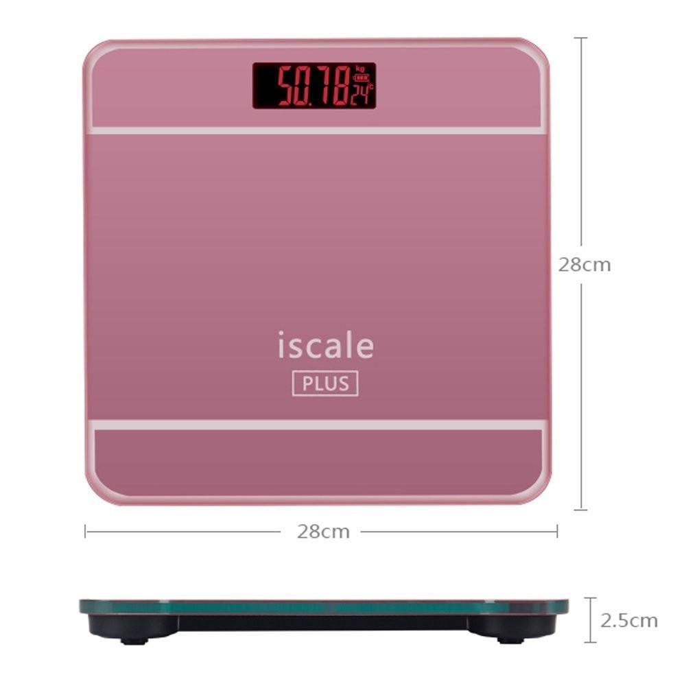 Castella77 33cm Timbangan Badan Digital Personal Scale Shopee Max 180kg Diameter Jumbo Indonesia