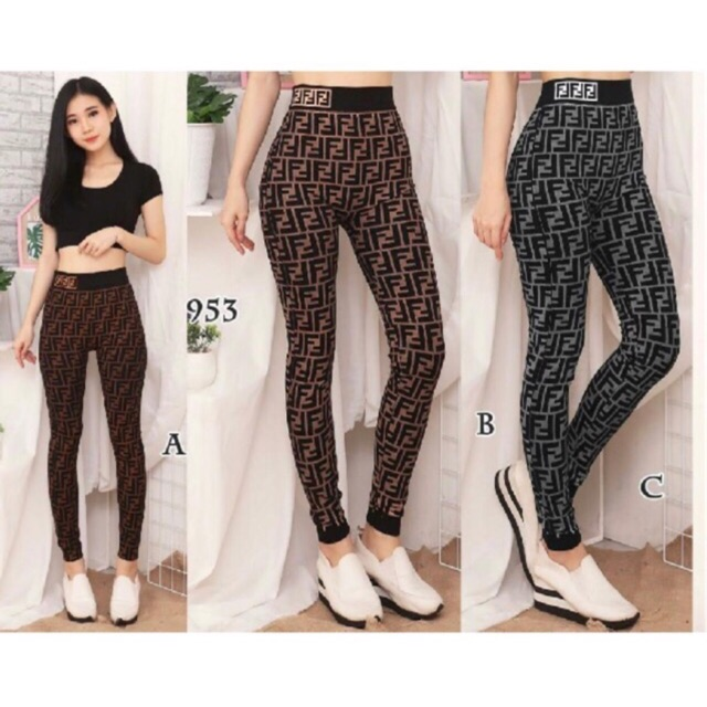 Legging Fendi Off 79 Free Shipping