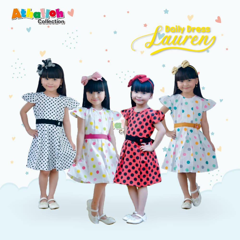 Dress Anak Lauren by Athalloh Collection