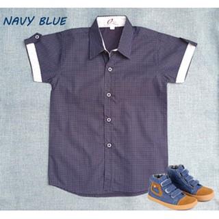... Kemeja Anak Laki Lengan Pendek Navy. suka: 79