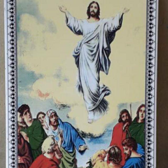 Keramik Ubin Gambar Bunda Maria Tuhan Yesus Naik Ke Surga Shopee Indonesia