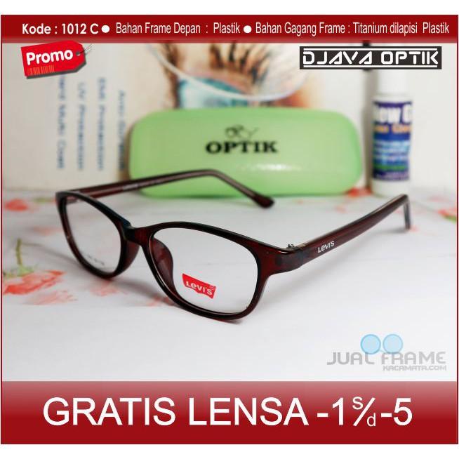 Frame Kacamata Korea Wanita Minus Dior Bulat 508 + Lensa Minus Baca  Antiradiasi Komputer Uv Hp  1e235027b4