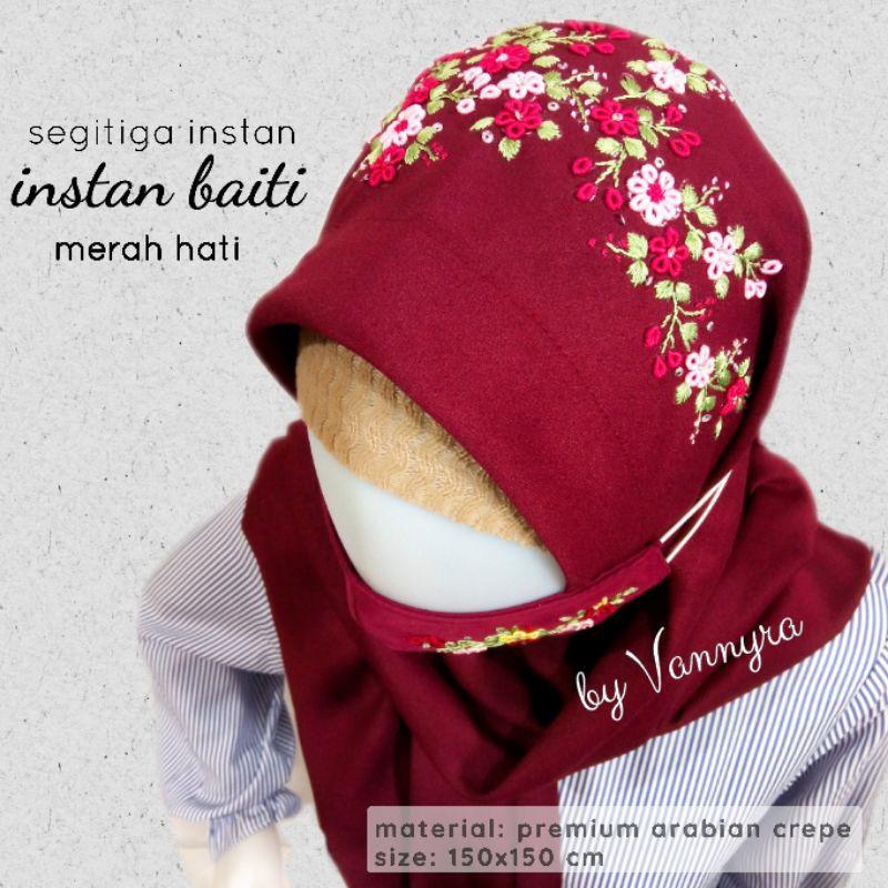Jilbab Instan Segitiga Baiti