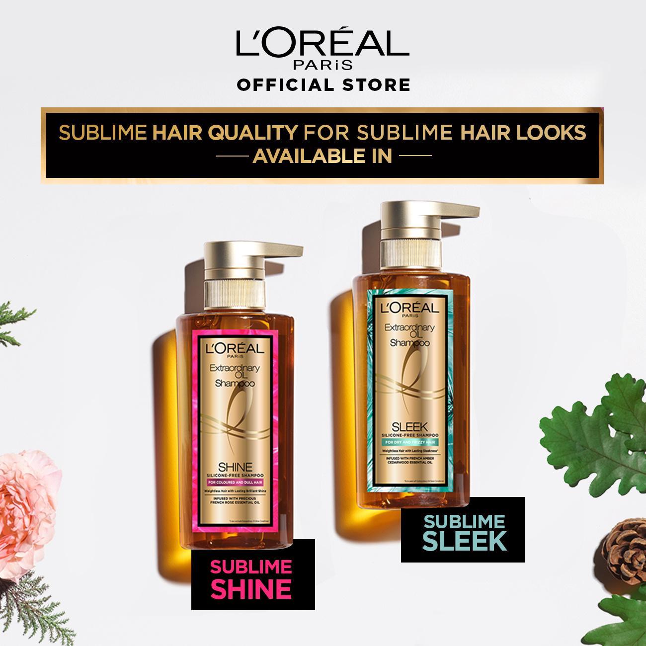L'Oreal Paris Extraordinary Oil Premium Shampoo Shine- 440ml Twinpack-7