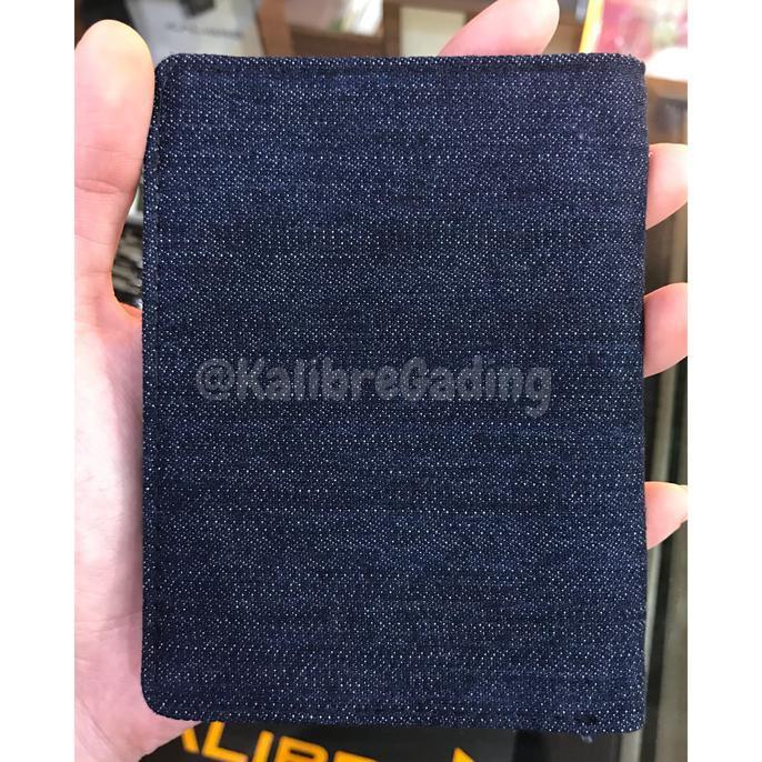 Kalibre 995070 999 Dompet Denim Jeans Biru Tua Dark Navy Blue Wallet ... -