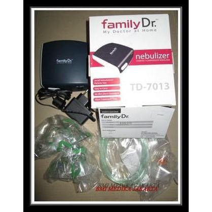 New Familly Dr Nebulizer Compressor Td 7013