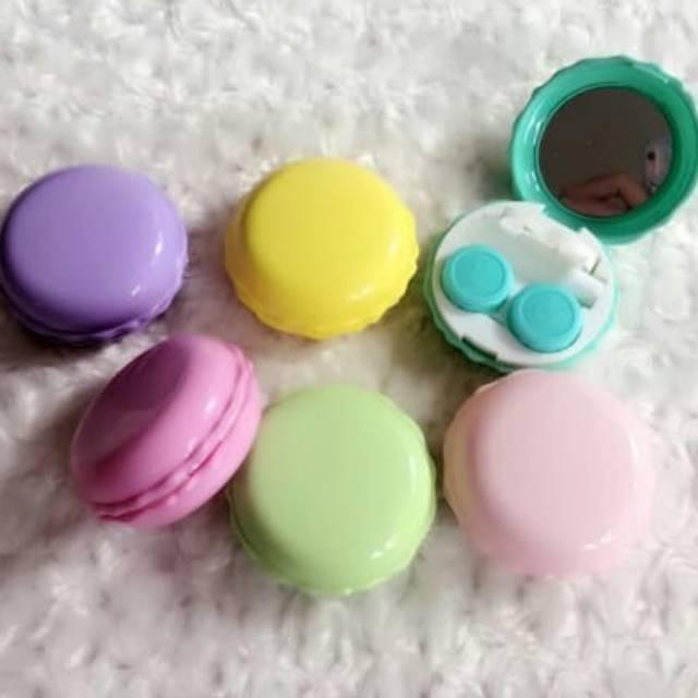 Tempat Softlens Mini - Cupcakes Lucu (Case Softlens / Kotak Softlens) Made in Korea