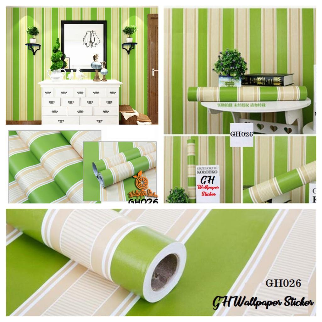 Wallpaper Sticker Dinding Wallsticker Wallpaper Stiker Dinding PVC Wallpaper GH026