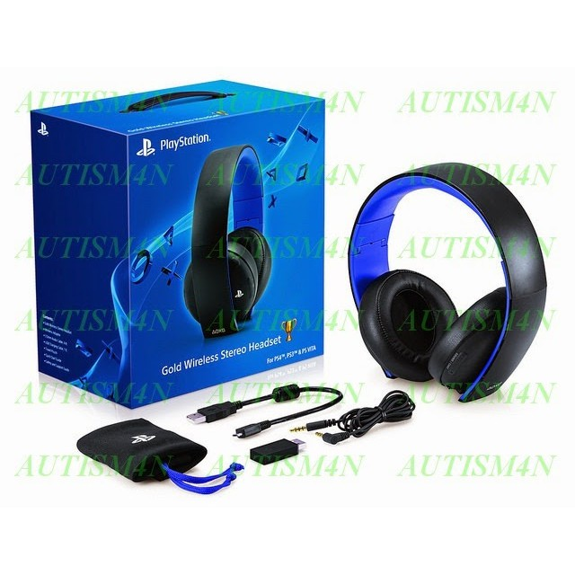 Sony Gold Wireless Stereo Headset ...