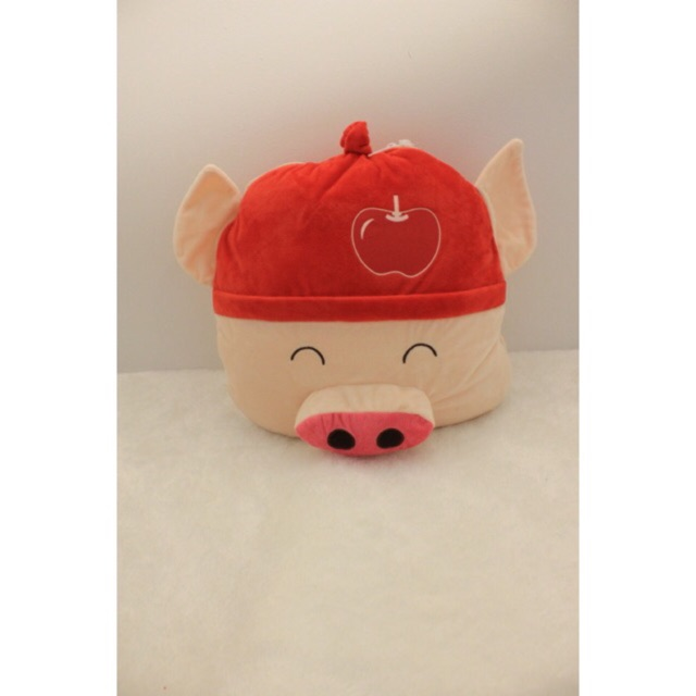 Balmut Karakter Boneka Bantal Selimut Babi Blue star Valentine gift pig  piggy Balmut apple orange  453ab16103